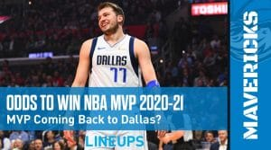 Odds To Win NBA MVP 2020-21: Luka Doncic The Frontrunner
