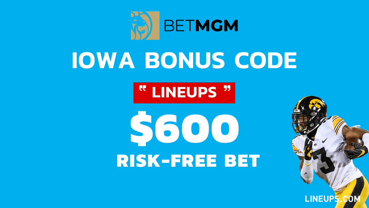 BetMGM $600 Risk-Free Bet Promo Iowa