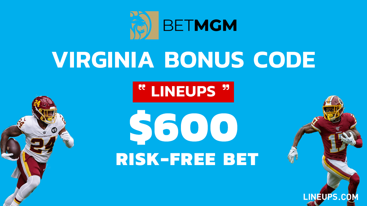 BetMGM $600 Risk-Free Bet Promo Virginia