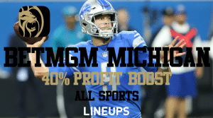 BetMGM Michigan is Coming Soon! Get 40% Parlay Profit Boosts on ALL Sports