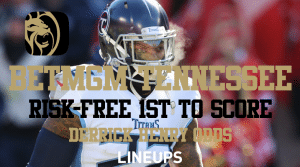 Get Any Player 1st to Score Risk-Free for NFL Playoffs on BetMGM Tennessee