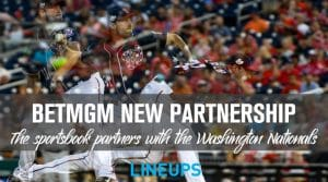 BetMGM Partners with the Washington Nationals