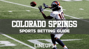 Colorado Springs Sportsbook Apps – Legal Mobile Apps ($1,000's in Bonuses)