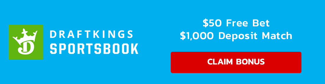 DraftKings Banner Update $1,050