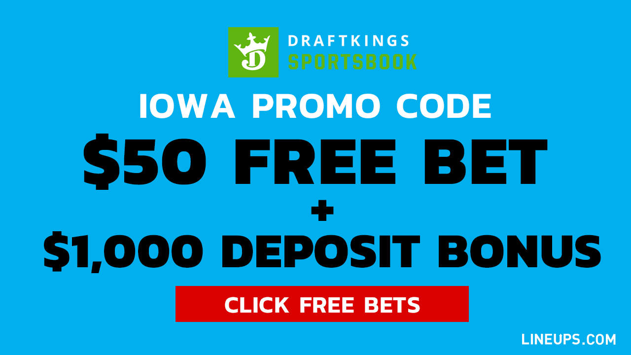 DraftKings IOWA Promo Large