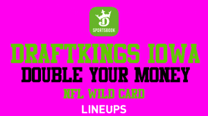 DraftKings Iowa: Double Your Money With a Single TD This Wild Card Weekend