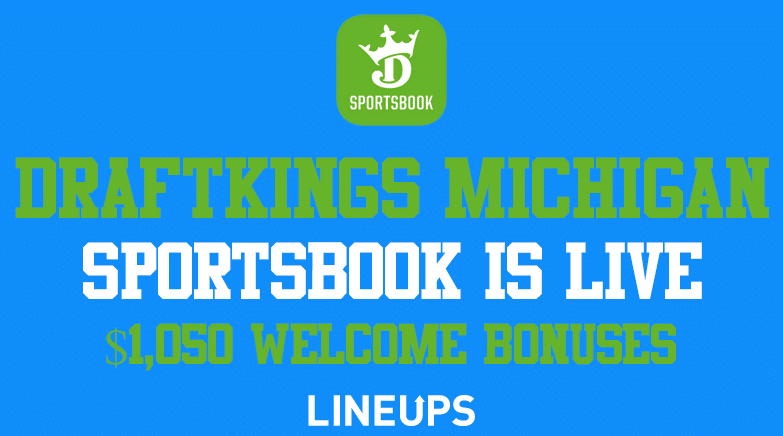 DraftKings Michigan Sportsbook is live Welcome Bonus