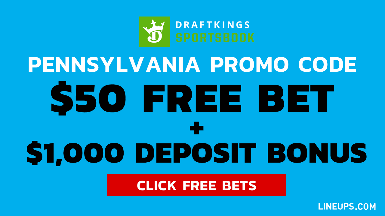 DraftKings pennsylvania Promo Large