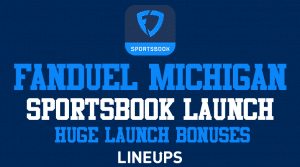 Get a Massive $1,000 Risk-Free Bet on FanDuel Michigan With Today's Launch