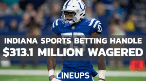 Indiana Sees Another Jump in Sports Betting Handle for December: $313.1 Million
