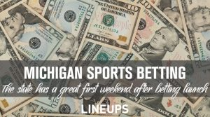 Highlights From Michigan's First Weekend With Online Sports Betting