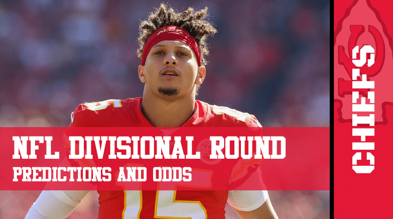 NFL Divisional Round predicitions lines and odds