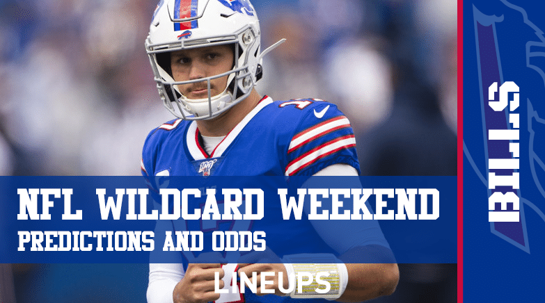 NFL Wildcard Weekend Odds and Predicitons