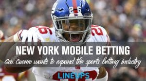 New York Governor Andrew Cuomo to Back Mobile Sports Betting
