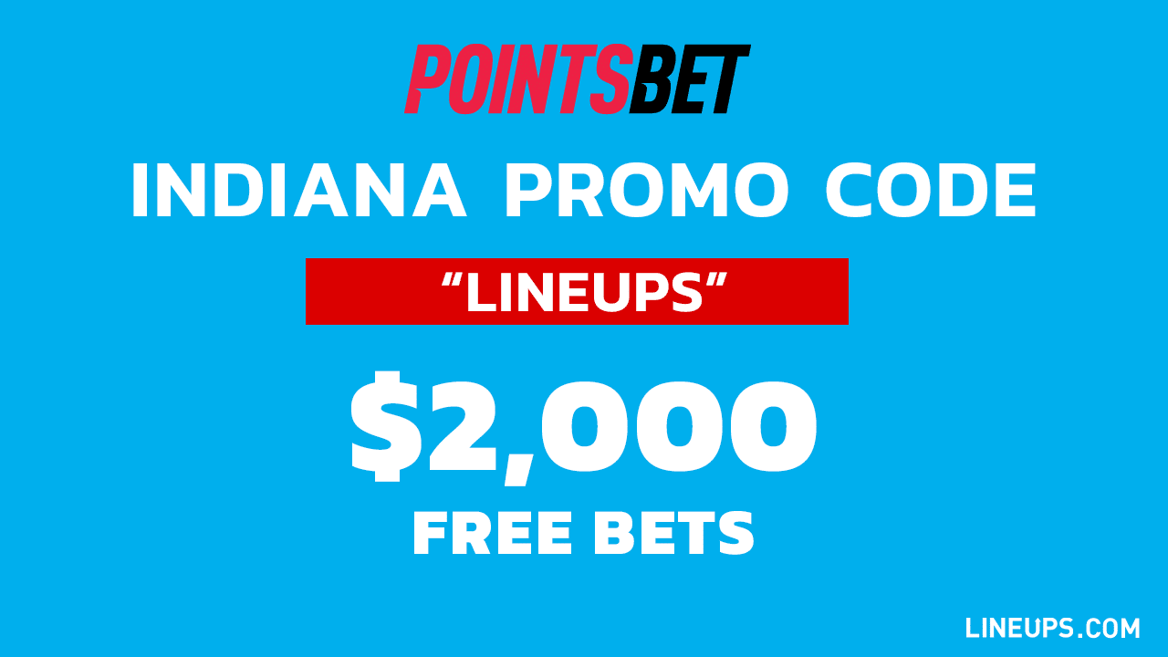 PointsBet Large Promo Indiana