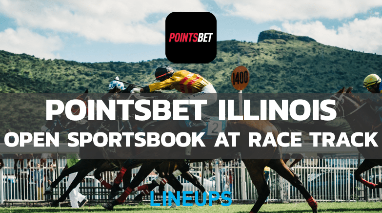 PointsBet Opens Sportsbook at race track