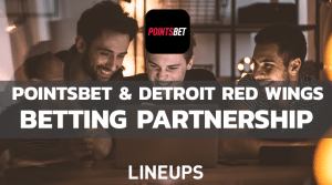PointsBet and Detroit Red Wings Announce Betting Partnership