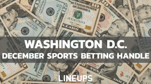 Washington D.C. Ends 2020 Down in Sports Betting Handle, Totals $12.4m