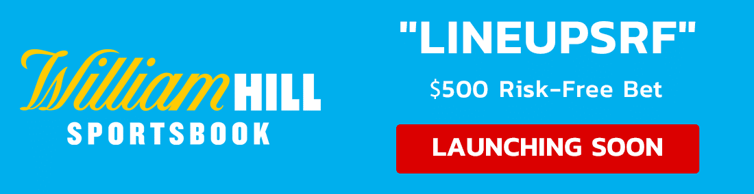 William Hill LineupsRF Launching Soon Banner
