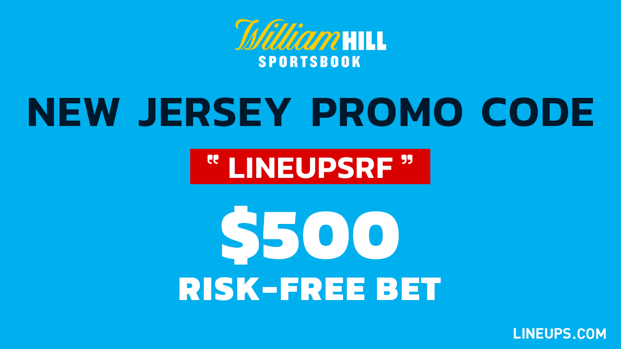 William Hill New Jersey Promo