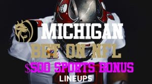 BetMGM Michigan is Taking Bets! Get $500 Sportsbook Bonus + $1,025 Casino Bonus