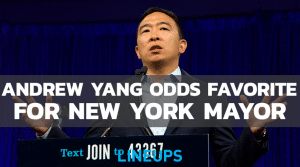 Andrew Yang Now Listed as Favorite to Become New York Mayor