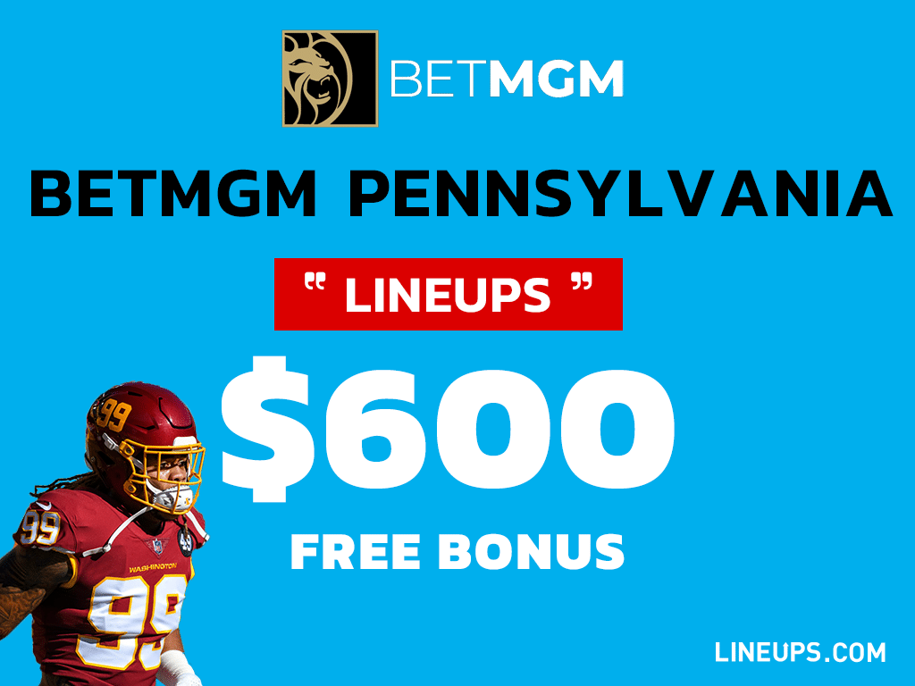 BetMGM Virginia $600 bonus promo