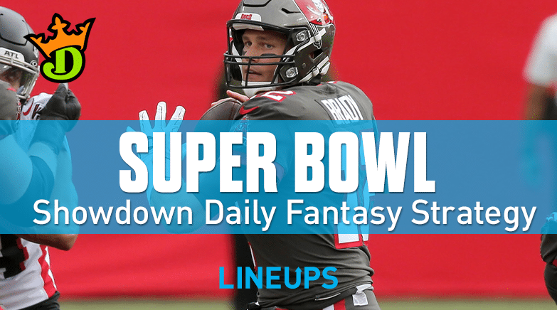 DraftKings Showdown Picks SuperBowl
