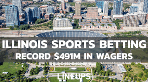 Illinois Sports Betting Sets New Record: $491.7M Wagered in December