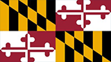 Maryland Small Flag