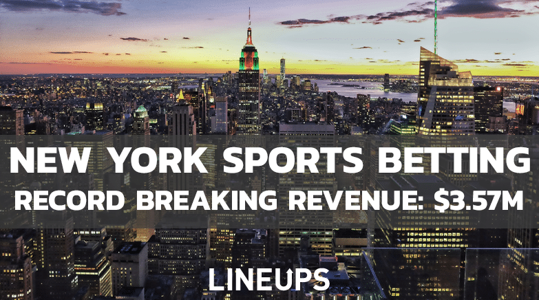 New York Sports Betting Revenue January