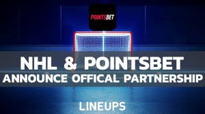 NHL and PointsBet Announce Offical Partnership