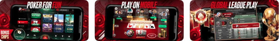 Pokerstars app preview display