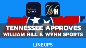 Tennessee Approves Sportsbooks William Hill & Wynn Sports