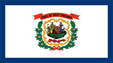 West Virginia Small Flag