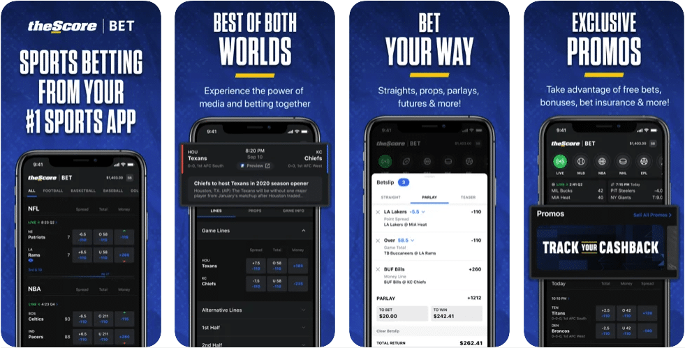 the score mobile app preview