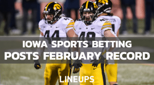 Iowa Sports Betting Revenue for February 2021 Tops 2020's