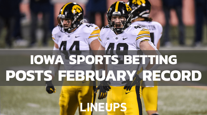 Iowa Sports Betting Feb