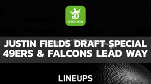 Falcons & 49ers Lead DraftKings Odds For Drafting Justin Fields