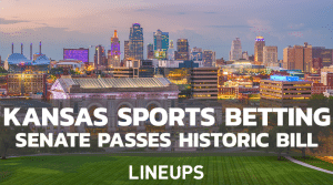 Kansas Sports Betting Bill Passes Through Senate & Heads to House