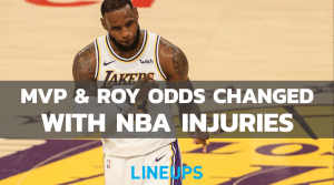 MVP & ROY Odds Change With Major Injuries Around The NBA