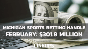 Michigan Reports over $300M in First Month of Sports Betting