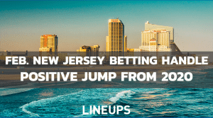 New Jersey Sports Betting Handle Sees Usual February Dip