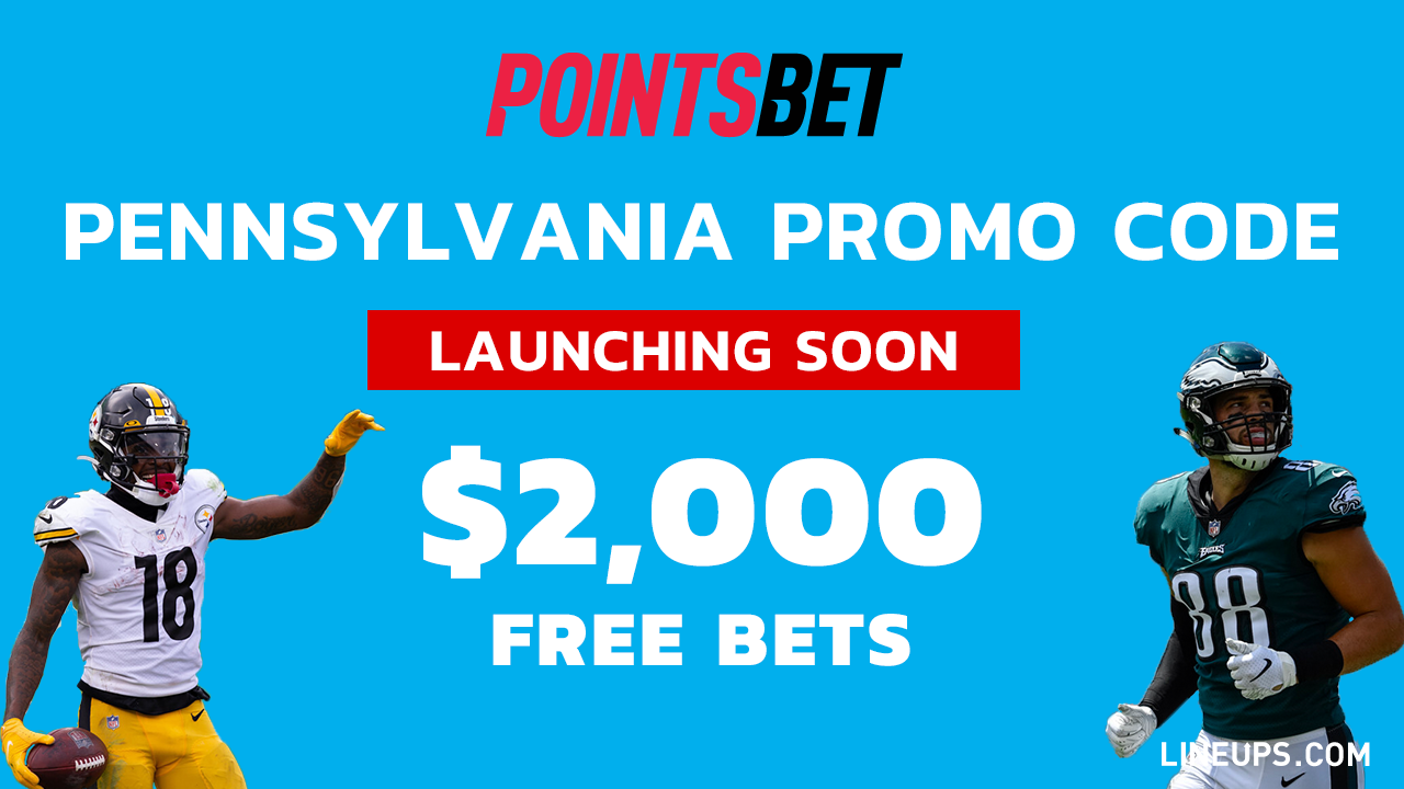 PointsBet Pennsylvania Promo Coming Soon $2000