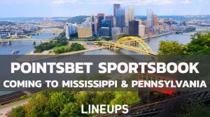 PointsBet Announces Move into the Pennsylvania and Mississippi Markets