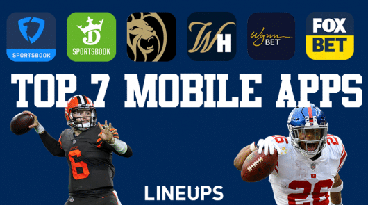 Best Seven Mobile Sportsbook Apps in The United States
