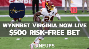 WynnBet Virginia Has Launched With a $500 Risk-Free Bet!