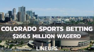 Colorado Sports Betting Sees Dip in February; Only $266.5 Million Wagered