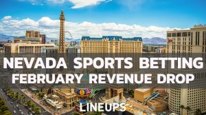 Nevada Sports Betting Sees Slight Drop, $554 Million Wagered in February
