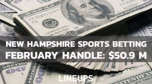 New Hampshire Sports Betting Handle: February Drops to $50.9 Million